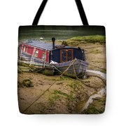 Home Is On The Mud Tote Bag