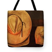 Home Is Where Ya Hang Yer Hat Tote Bag