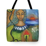Home Is Where Your Heart Is Tote Bag by Prerna Poojara