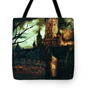 Home Of Darkness Tote Bag