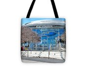 Home Of The Cowboys Tote Bag