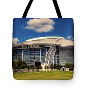 Home Of The Dallas Cowboys Tote Bag