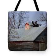 Home Of The Farm Cats Tote Bag