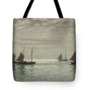 Home On The Morning Tide Tote Bag