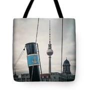 Home Port Berlin Tote Bag