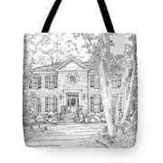 Home Portrait # Tote Bag