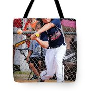 Home Run In The Making Tote Bag
