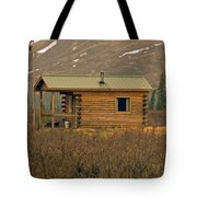 Home Sweet Fishing Home In Alaska Tote Bag