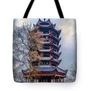 Wuyun Tower Tote Bag