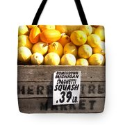 Homegrown Michigan Spaghetti Squash Tote Bag