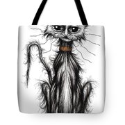 Homeless Cat Tote Bag