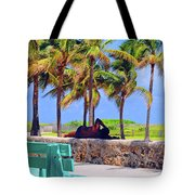 Home On The Beach Tote Bag