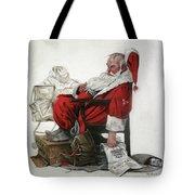 Homeless Santa Tote Bag