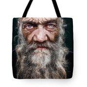 Homeless Veteran Tote Bag