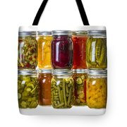 Homemade Preserves And Pickles Tote Bag