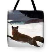 Homer Fox Hunt 1893 Tote Bag by Granger
