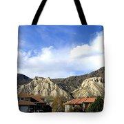 Homes And Hoodoos Tote Bag