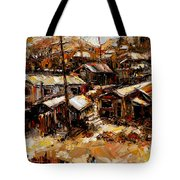 Homes In The Hills  Chaves Revine Tote Bag