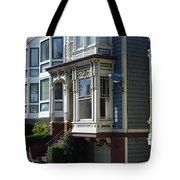 Homes Of San Francisco Tote Bag