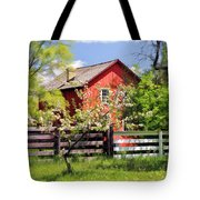 Homestead At Old World Wisconsin Tote Bag