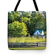 Small Farm Homestead Tote Bag