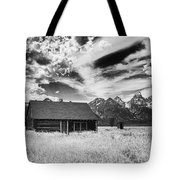 Homestead Mormon Row Tote Bag
