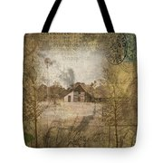 Homestead Of Old Tote Bag