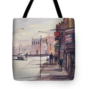 Hometown Shadows Tote Bag