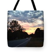 Homeward Bound Evening Sky Tote Bag