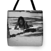 Homework At The Hollywood Beach Tote Bag