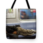 Homeless In Motion Tote Bag