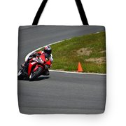 Honda Takes Turn 1 No 2 Tote Bag