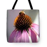Honey Bee At Work Tote Bag