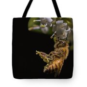 Honey Bee Kick, Apis Mellifera Tote Bag