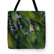 Honey Bee On Flower #4 Tote Bag