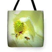 Honey Bees And Magnolia II Tote Bag