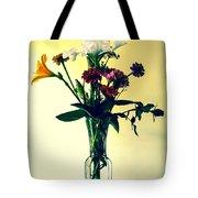 Honey Creek Flowers Tote Bag by Tom Zukauskas
