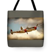 Honey Dancin P-38 Lightning Tote Bag