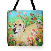 Honey In The Flower Fields Tote Bag