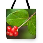 Honey Suckle Berry Seeds Tote Bag