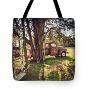 Honey, Under The Cedar Tree Tote Bag