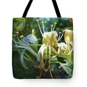Honeysuckle Sun Tote Bag