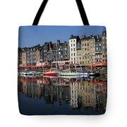 Honfleur Harbour, Normandy, France Tote Bag