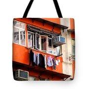 Hong Kong Apartment 12 Tote Bag