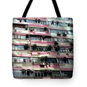 Hong Kong Apartment 18 Tote Bag
