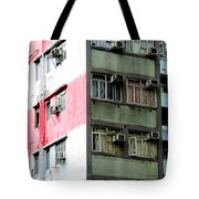 Hong Kong Apartment 3 Tote Bag