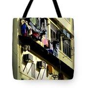 Hong Kong Apartment 8 Tote Bag