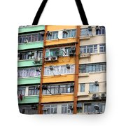 Hong Kong Apartment 9 Tote Bag