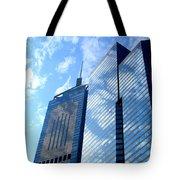 Hong Kong Architecture 58 Tote Bag