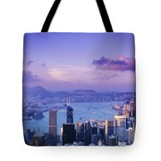 Hong Kong Harbor Tote Bag
